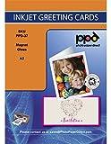 PPD Papel fotográfico magnético con acabado brillante para tarjetas de...