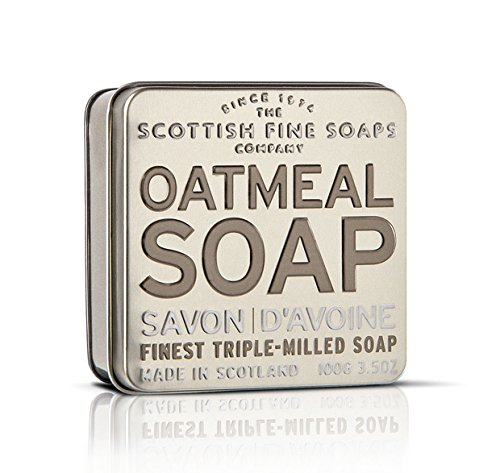 Scottish Fine Soaps Serie Aromas Escoceses - Jabón en lata 100 g...