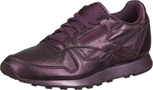 Reebok Damen Cl Face Fashio Sneaker, Pflaume, 37.5 EU