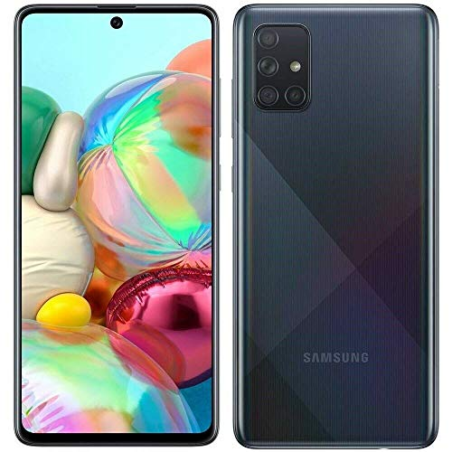 Samsung Galaxy A71, 128GB – Phone only, Prisma Crush Negro