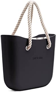 Lime & Soda Women's Fashion Eva Handbag - Rope Handles - Mix & Match to find your style
