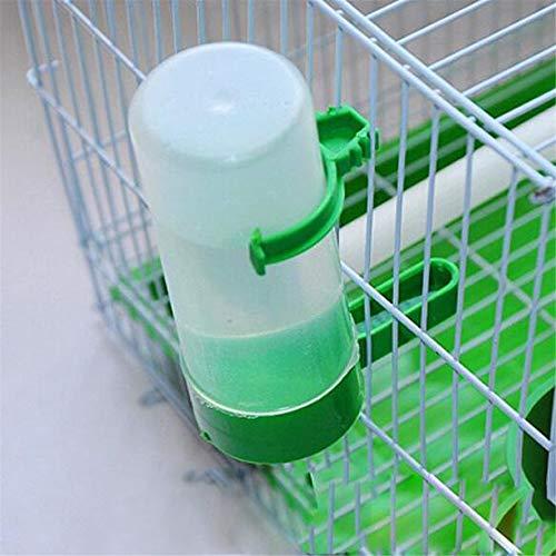 JINLL 2 Stück Vögel Wasserflasche Wasserfutterautomat Spender Wasserschale Für Vögel Papageien Käfig Zubehör Tierbedarf Fütterungsgeräte Behälter