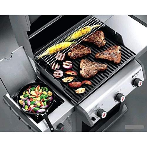 Weber Spirit E-320 Premium GBS Gas Barbecue Grill, Black