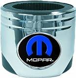 R & D Enterprises Mopar Piston-Shaped Drink Koozie, Silver
