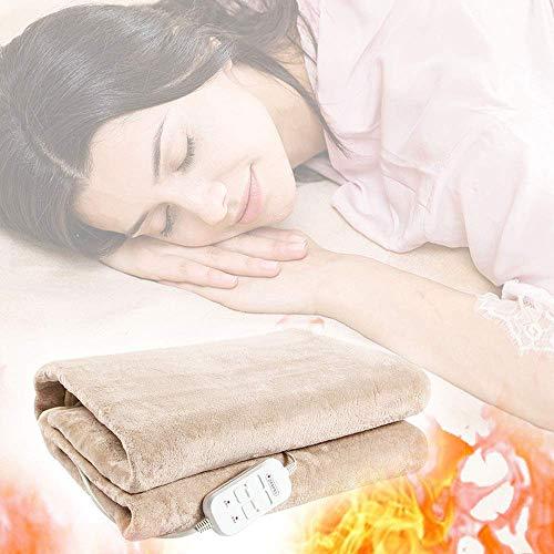Manta eléctrica de alta calidad: suave y cómoda con calefacción JoinBuy.R, sábana...