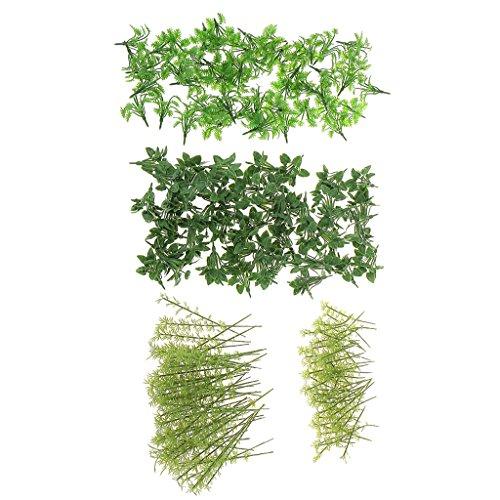 T TOOYFUL Bodendecker Gras Bambus Modell Für Zug Rr Architektur Landschaft O Ho