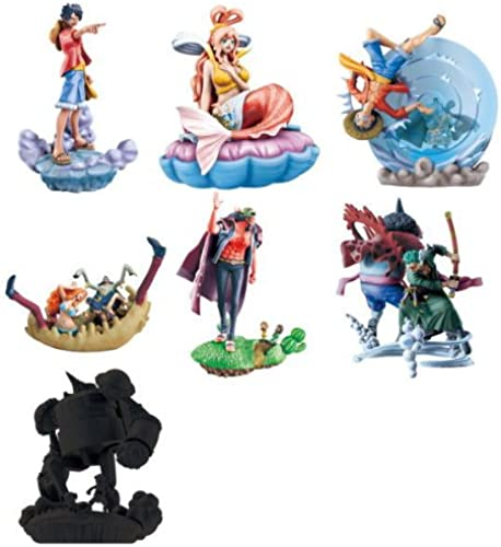 Fishman Island Chapter of One Piece ONE PIECE LOGBOX mayhem [all set of 6, including the bonus parts (full comp)] (japan import)
