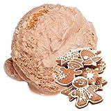 1 Kg Lebkuchen Geschmack Eispulver VEGAN - OHNE ZUCKER - LAKTOSEFREI - GLUTENFREI - FETTARM, auch für Diabetiker Milcheis Softeispulver Speiseeispulver Gino Gelati