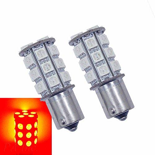 PA 2 x 1156 1619 BA15S 30 5050 SMD LED arrière ampoule lampe Rouge Couleur