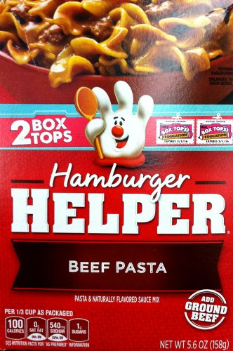 Betty Crocker BEEF PASTA Hamburger Helper 5.6oz (2 Pack)