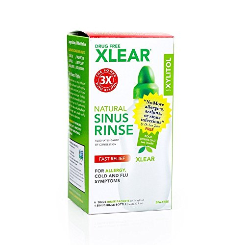 Xlear Sinus Care Rinse System With Xylitol -- 1 Kit