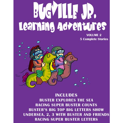 Bugville Jr. Learning Adventures Collection #2 cover art