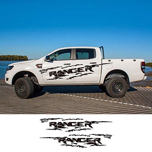 HLLebw Auto Pegatinas de Calcomanías, For Ford Ranger Raptor Pickup