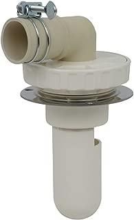 谷大 洗衣机用 防止异味的排水拖把 直接安装在地板上使用方便 呼50VU管兼用 白色 426-002