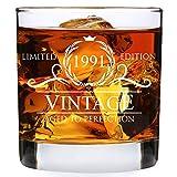 30th Birthday Gifts for Men - 1991 Birthday Gifts for Men 11 oz Whiskey Glass - 30 Birthday Gift Ideas for Men - 30 Year Old Gifts for Men Dad Husband Friend Him