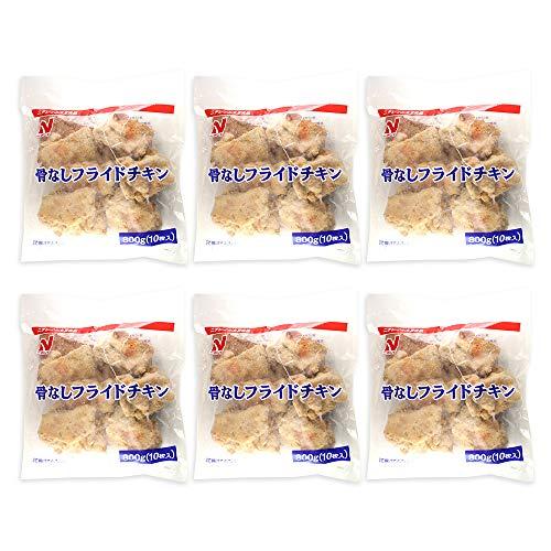 【まとめ買い】冷凍食品 骨なしフライドチキン ニチレイ 800gx6