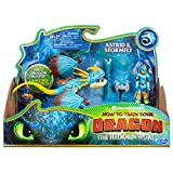 Dreamworks Dragons, Stormfly and Astrid, Dragon with Armored Viking Figure, for Kids Aged 4 and Up