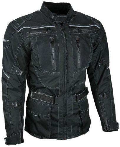 HEYBERRY Motorrad Jacke Motorradjacke Textil schwarz Gr. XL