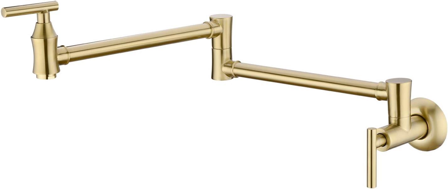 EKRTE Pot Filler specialty shop Solid Brass Faucet Gold Brushed Co Portland Mall