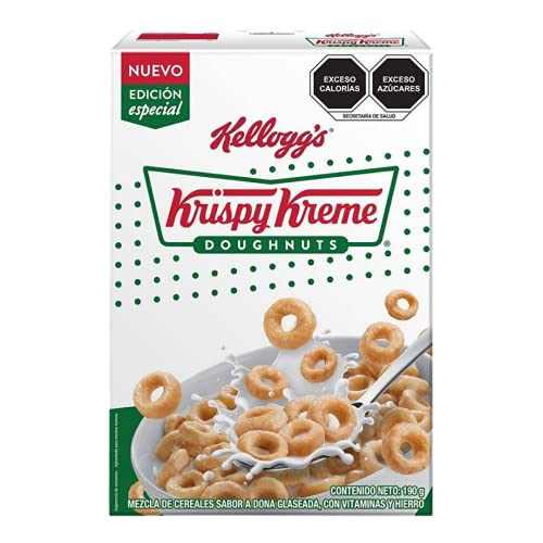 Cereal Kellogg´s Krispy Kreme sabor a dona glaseada 190g