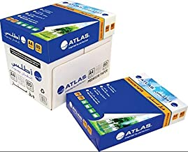 Atlas Photocopy A4 Paper 500 Sheet X 5 80 GSM HQ