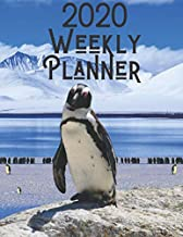 2020 Weekly Planner: Penguin 52 Week Journal 8.5 X 11 Inches for Women Academic Organizer Monthly Calendar Scheduler Appointment Agenda Notebook Planners