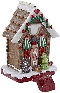 Kurt Adler Gingerbread House Stocking Holder