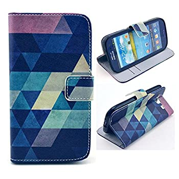 Galaxy S3 Case M-Zebra Printed Series Light Color Design PU Leather Stand Wallet Type Magnet Design Flip Case Cover For Samsung Galaxy S3 i9300 with Screen Protectors+Stylus+Cleaning Cloth  Diamond