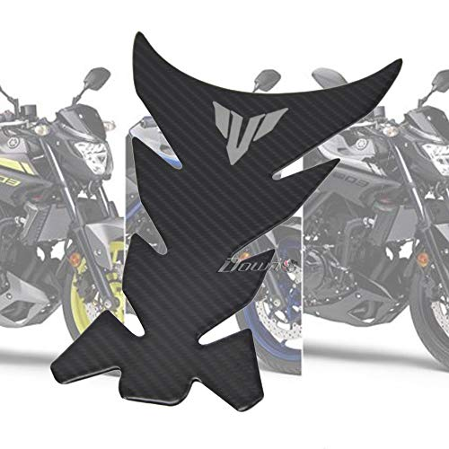 New motorcycle 3D carbon fiber tank fish bone decoration stickers Fit For For YAMAHA YZF R1 R25 R3 R125 XJ6 XSR700 XSR900