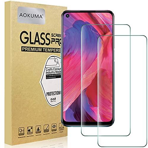 AOKUMA Cristal Templado OPPO A54 5G, [2 Unidades] Protector Pantalla para OPPO...