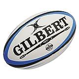 Gilbert Omega Rugby Ballon d'entraînement–Taille 5(Bleu/Noir)
