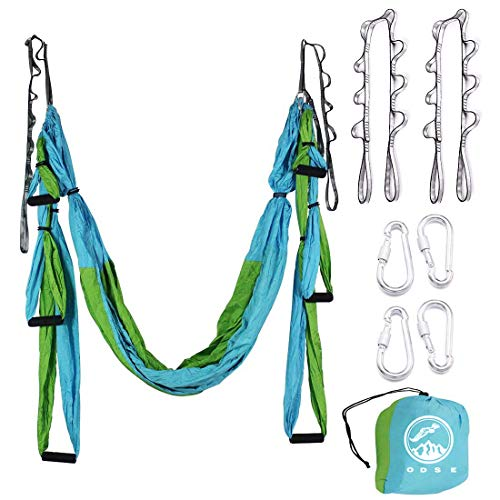 Review Of ODSE Aerial Yoga Swing - Ultra Strong Antigravity Yoga Hammock/Sling/Inversion Tool for Ai...