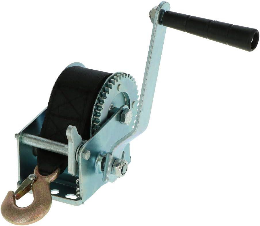Cabrestante manual, cabrestante para remolque, 400 kg