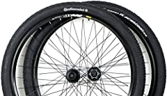 29er Wheels with Boxed Alloy Beam, Mavic XM119 Rims FREE Pair Continental Race King Performance 180TPI 29x2.2 Folding Bead Tires (Top Rated Tires list for Up to $80/pair) Black Stainless Steel Spokes 32 front / 32 rear Smooth Rolling Shimano M475 MTB...