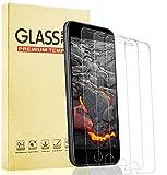 Lixuve iPhone SE 2020 Protector de Pantalla, Alta Claridad Cristal Templado para iPhone 8/7/6S/6, Dureza 9H, Sin Burbujas, 3 Unidades