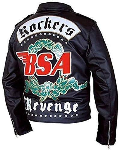 George Michael BSA Faith Rockers Revenge - Chaqueta de piel