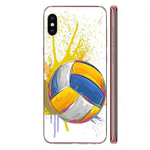 WLWW Per Huawei Mate 9 10 20 P P8 P9 P10 P20 P30 P40 Lite Pro Smart 2017 Custodia Morbida In Tpu Custodie Pallavolo Sport-For_Huaweimate10Lite_As_Picture