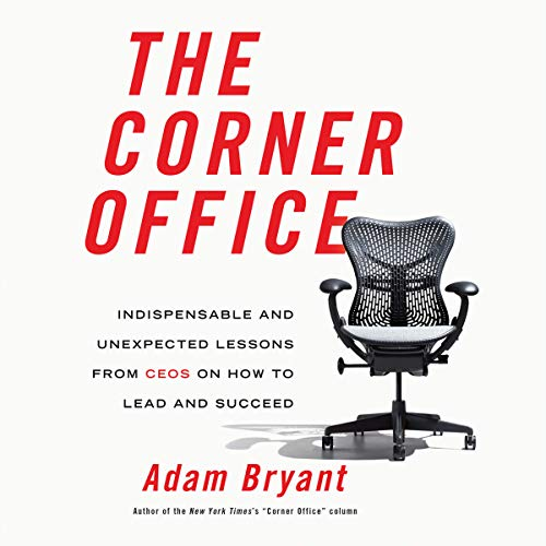 The Corner Office audiobook cover art