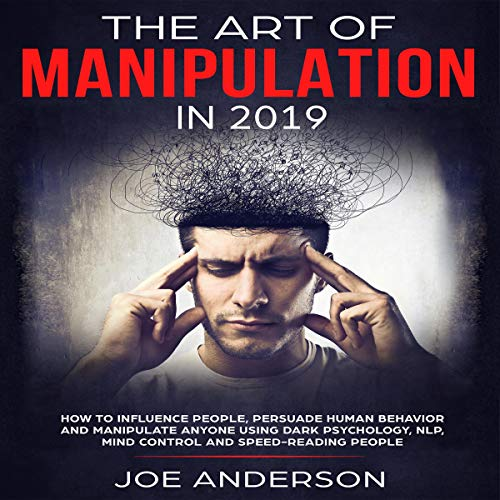 The Art of Manipulation in 2019 audiobook cover art