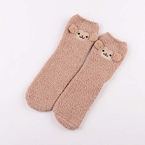 whmyz Cute Fuzzy Socks For Girls Christmas Socks For Women 3d Winter Thermal Sock New Year Ladies Socks Box-14_One Size