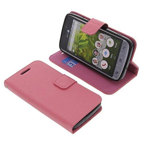 Tasche für Doro 8031 Book Style Pink Schutz Hülle Buch
