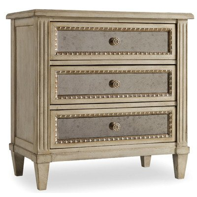 Best Deals! Living Better Now Nightstand 3 Drawers Wood Bedroom Furniture Bedding Indoor Organizer H...