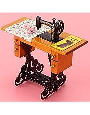 Wykwintne wykonanie akcesoria do domku dla lalek, maszyna do szycia 1:12, meble do domku dla lalek zabawki, dla domków dla lalek dla dzieci 1:12 lalki