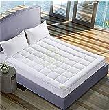 AVI Super Soft 500 GSM Mattress Padding/Topper for Comfortable Sleep -White -6ft x 6.5ft -...