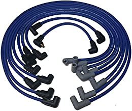 MERCRUISER HEI Style IGN Wire Set Replaces 84-813720 A2 OR 18-8804-1 S.S. Spring Around CORE for HIGH Output MAROSSO MAG Wire FITS Cap with Male PRONGS ON TOP to Accept Female Wire Tips.