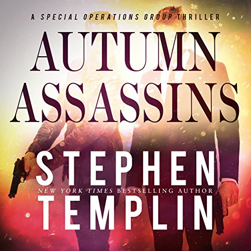 Autumn Assassins audiobook cover art