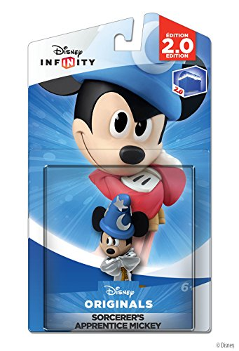 Disney Infinity: Disney Originals (2.0 Edition) Crystal Sorcerer's Apprentice Mickey Figure - Not Machine Specific