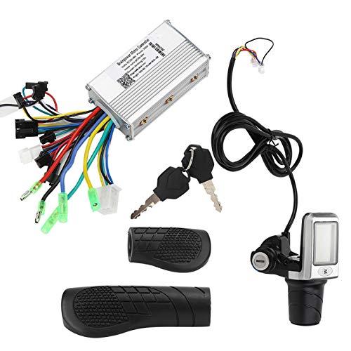 Accesorio de Bicicleta eléctrica Controlador de Bicicleta eléctrica sin escobillas Control de Interruptor de medidor 36-84V Tablero de módulo para Scooters Bicicleta eléctrica Triciclos
