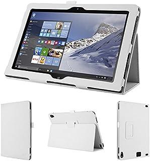 wisers 保護フィルム・タッチペン付 Lenovo ThinkPad 10 2015年型 10.1インチ タブレット 専用 ケース カバー ホワイト