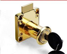 GangKun Kantoor, ladeslot, bureau, vijl, kastslot, huishouden, nachtkastje, kast, kast, deurslot, met rond gat, cilinder@A
